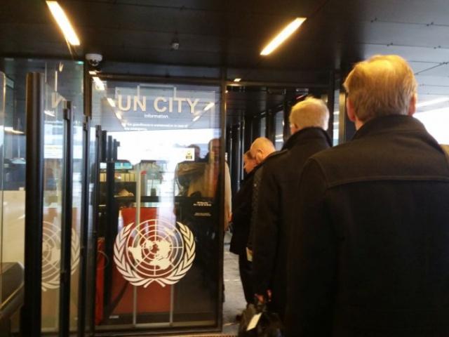 Team Finland visit to UN Copenhagen